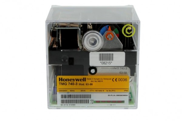 Honeywell Satronic Steuergerät TMG740-3, Mod. 63-58