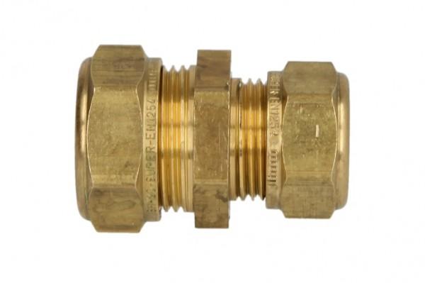 MS-Klemmringverschraubung, gerade/red. für Rohr-Ø 22 x 18 mm