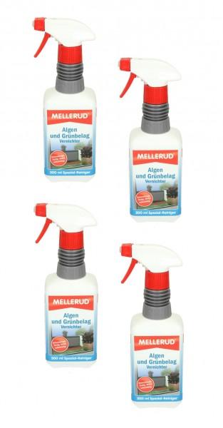 MELLERUD Algen- und Grünbelag-Vernichter 0,5   1   2 Liter Spezial-Reiniger