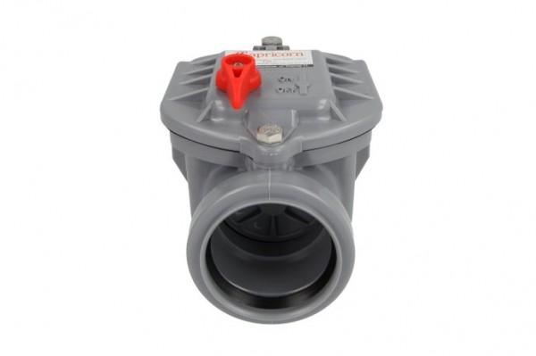 Rückstauverschluss mit Handverriegelung Typ 1, Ø 50 mm