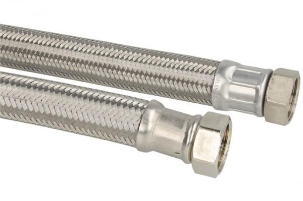 """90° Winkel-Verbindungsschlauch 300mm 1"""" Mutter x 1"""" Mutter (DN 25)"""