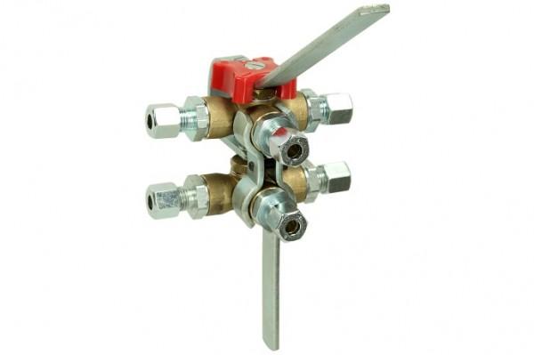 Doppel-Umschaltventil DUV 10 mm