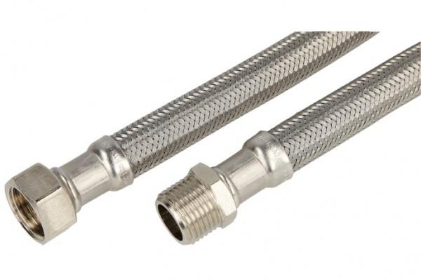 """Verbindungsschlauch 1000mm (DN 13) 1/2"""" AG x 1/2"""" Mutter"""