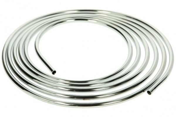 Kupferrohr 5000 mm x Ø 8 mm, verchromt auf Rolle