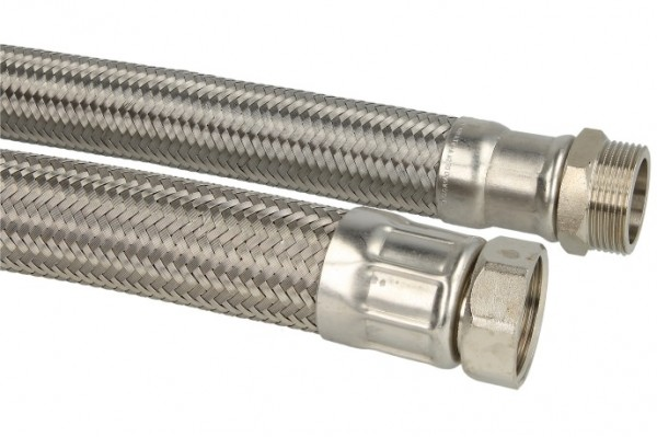 """Verbindungsschlauch 1000mm (DN 32) 1 1/4"""" AG x 1 1/4"""" Mutter"""