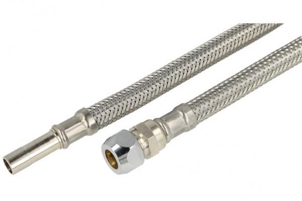 """Verbindungsschlauch 500mm (DN 8) 10mm Stutzen x 10mm QV/3/8"""""""