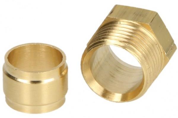"""Anschlußsatz Heizölfilter, Oventrop, 3/8"""" x 6 mm, 1-fach"""