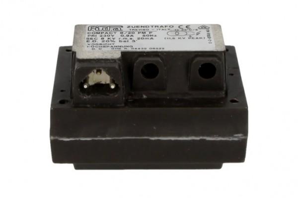 8/20 PM 230 V, FIDA Zündtransformator 20% Einschaltdauer, kleine Bauform