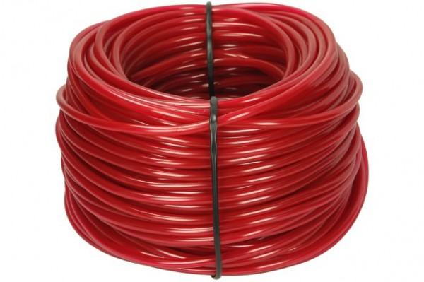 Afriso PVC-Schlauch 4 x 2 mm, rot 100 m Ring
