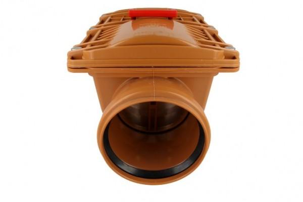Rückstauverschluss mit Handverriegelung Typ 2, Ø 110 mm