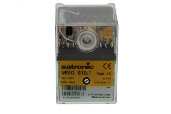 Honeywell Satronic Steuergerät MMG810.1 Mod. 45