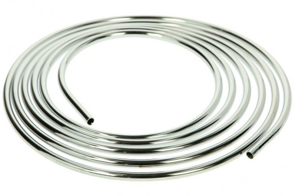 Kupferrohr 5000 mm x Ø 12 mm, verchromt auf Rolle