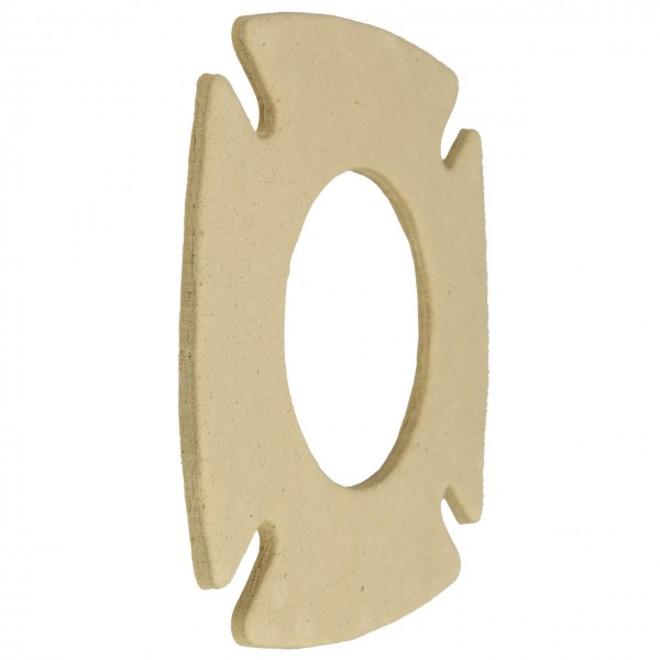 Cuenod Isolierflanschdichtung 156 x 156 x 5 mm,NC 4,4R,6R (ab 05/02),Nr.13022749