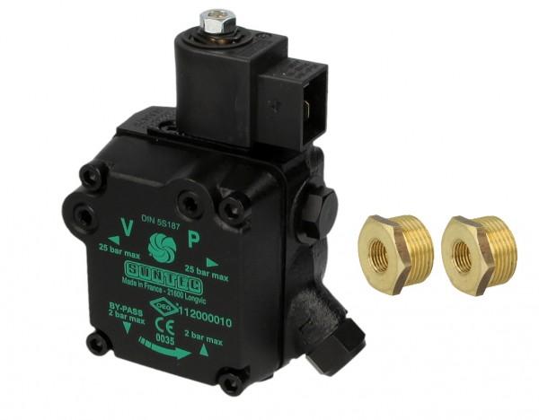 Ölpumpe Suntec AUV47R als Ersatz für Eckerle UNI 2.2 R5 S60 inkl. 2 x 3729745