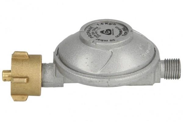 Niederdruckregler,gerade, 50 mbar,1,5 kg/h GOK Flüssiggas-Regler EN 61,Nr. 0111500