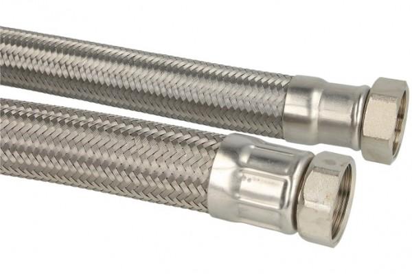 """Verbindungsschlauch 500mm (DN 32) 1 1/4"""" Mutter x 1 1/4"""" Mutter"""