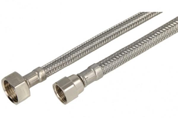 """Verbindungsschlauch 300mm (DN 8) 3/8"""" Mutter verdrehsicher x 1/2"""" Mutter"""